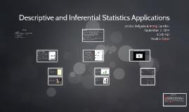 Copy of Descriptive and Inferential Statistics Applications