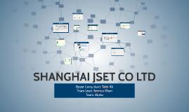 SHANGHAI JSET CO LTD