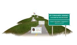 My cousumer Journey