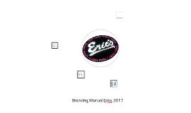 Branding Manual Erics 2017