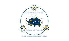 Copy of Análisis del CEEM al Nuevo Borrador del Real Decreto de Troncalidad