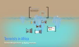 Terrorists in Africa