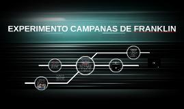 EXPERIMENTO CAMPANAS DE FRANKLIN