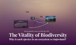 The Vitality of Biodiversity