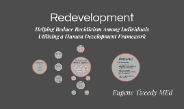 Redevelopment: Helping Reduce Recidivism Among Individuals U