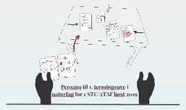 Pensum til terminprøve i naturfag 1 STC/2TAF