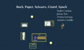 Rock, Paper, Scissors, Lizard Spock