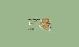 Piracy in Africa
