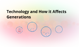 Technology and How it Affects Generations