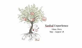 Yanbal Experience
