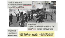Vietnam War Homefront