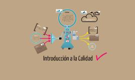 Copy of Introducción a la Calidad