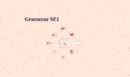 Grammar SE1
