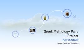 Greek Mythology Pairs Project