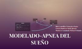 MÓDELADO-APNEA DEL SUEÑO