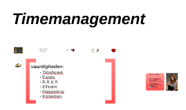 Timemanagement Vrouwencongres