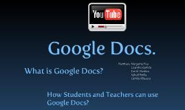 ICT Google Docs. (Nykoll Pinilla)