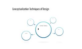 Conceptualization Techniques of Design