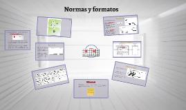Normas y formatos