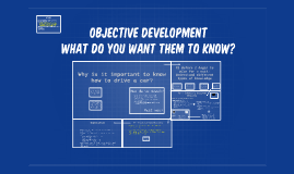 Objective Development