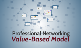 Professional Networking Value-Based Model