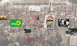 Die Außerparlamentarische Opposition