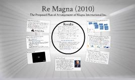 Litigation & Regulatory Risk - Magna