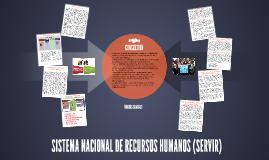 SISTEMA NACIONAL DE RECURSOS HUMANOS (SERVIR)