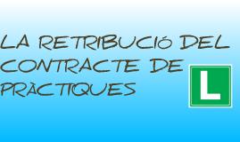 retribució del contracte de pràctiques