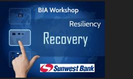 BIA & BCP Updates