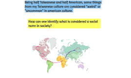 How can one identify what is considered a social norm in soc