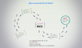 ¿Que es conmutacion de Datos?