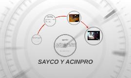 SAYCO Y ACINPRO