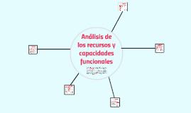Análisis de los recursos y capacidades funcionales