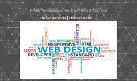5 Web Technologies You Can't Afford To Ignore