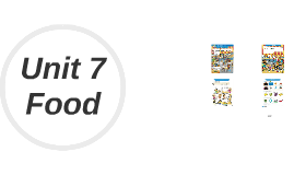 "Unit 7 ""FOOD"""