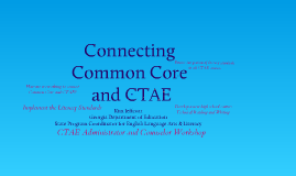 CTAE conference Oct. 2011