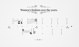Fashion over the years.