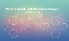 Primary Mental Health Prevention Program for Children and Adolescents