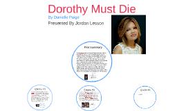Copy of Dorothy Must Die