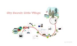 City Search: Little Village By Yesenia S. & Jeffrey F.