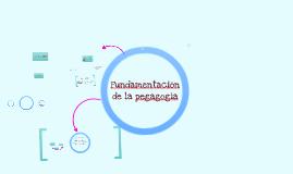 Copy of Fundamentación pedagógica y teleologica
