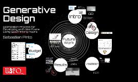 Generative Design Optimization Process for Developing an E-bike Frame Using SolidThinking Inspire 30 min
