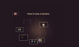 How to Use a Camera