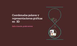 Coordenadas polares y representaciones gráficas en  3D