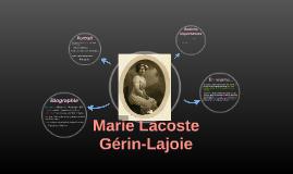 Marie Lacoste Gérin-Lajoie