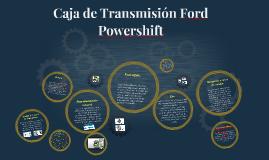 Caja de Transmision Ford Powershift