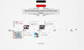 Deutsches Kaiserreich 1890-1918