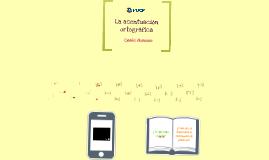 Copy of La acentuación ortográfica