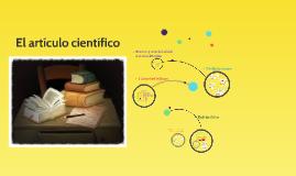 Copy of El artículo científico